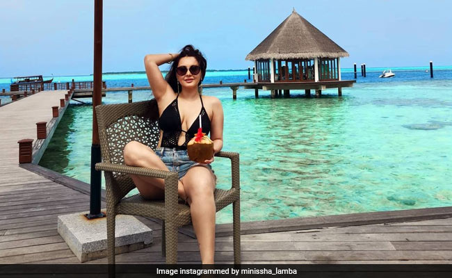 'The Blues Are Highly Appreciated' By Minissha Lamba, Holidaying In Maldives