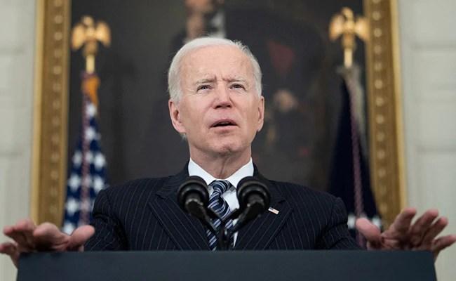 Joe Biden Vows To Lay Down 'Red Lines' To Vladimir Putin