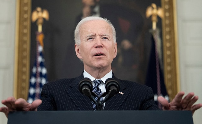 Joe Biden Wants 70% US Adults To Have First Covid Shot By July 4