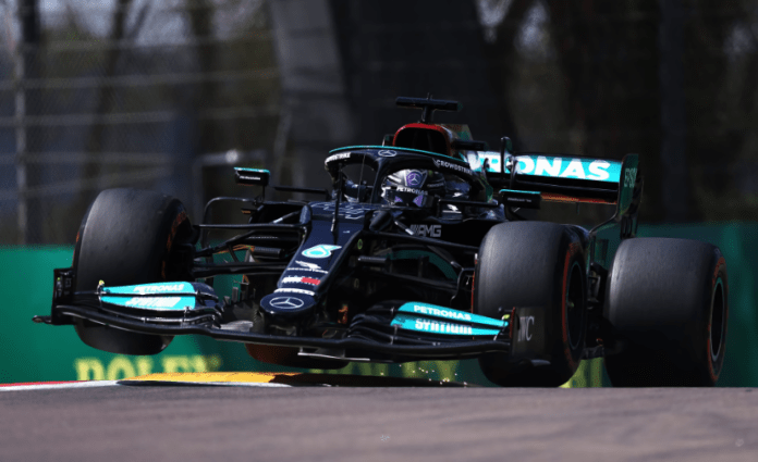 Hamilton secured an unexpected pole at the F1 race in Imola