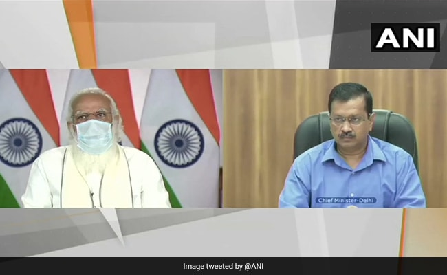Protocol Of PM Modi's Live Telecast Today Questioned Weeks After Arvind Kejriwal Chided For It