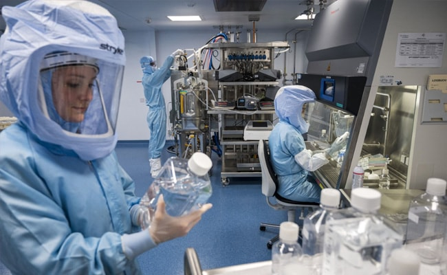 Inside Covid Vaccine Production At BioNTech's New Plant In Germany