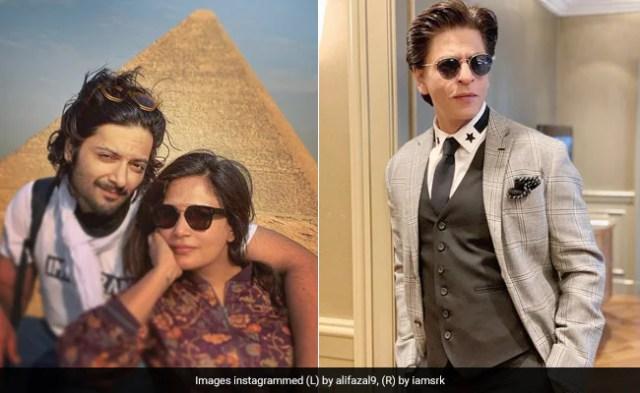 Richa Chadha Wishes She Had Been At College With Shah Rukh Khan. Ali Fazal's Reaction