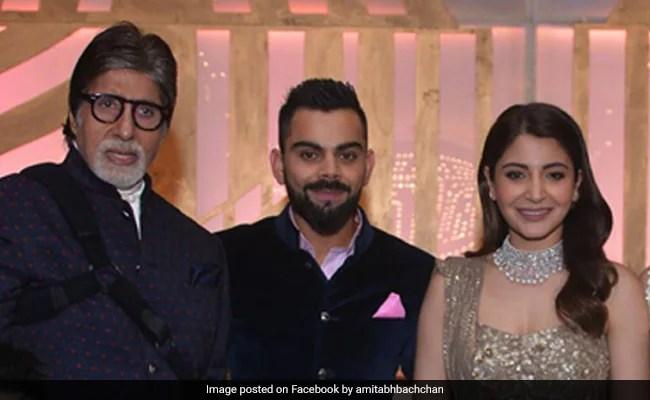 'With Due Respect To Anushka Sharma, Virat Kohli,' Amitabh Bachchan Found This Joke Funny