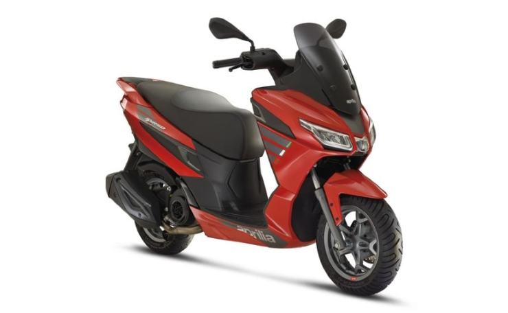 The Aprilia SXR 50 is the entry-level scooter in the SXR series, and has been unveiled in Europe