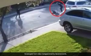 Man slams thief who held him at gunpoint
