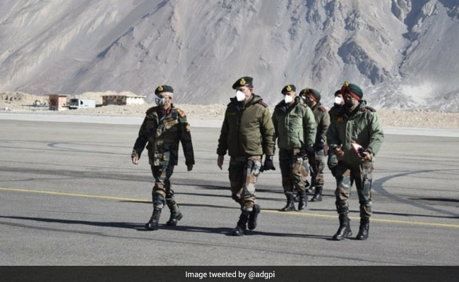 Army Chief Visits Siachen, Eastern Ladakh, Reviews Operational Situation