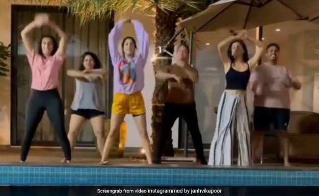 Viral: Janhvi Kapoor Dancing To Cardi B's Up With Her Squad