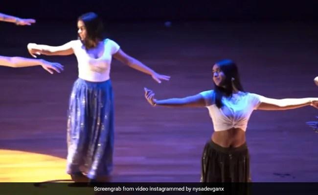 Viral: Nysa Devgn Dancing To Mom Kajol's Songs At School Event