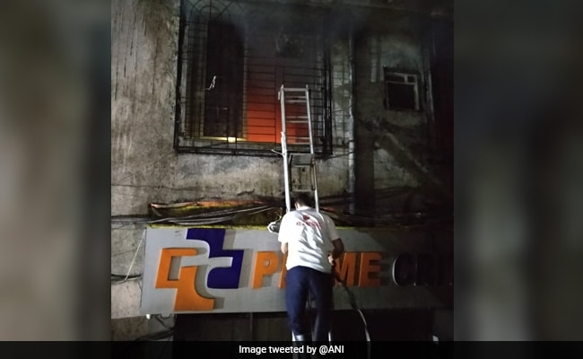 Four Patients Dead In Fire At Hospital In Maharashtra's Thane