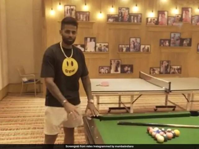 IPL 2021: Suryakumar Yadav Gives Fans A Tour Of Mumbai Indians
