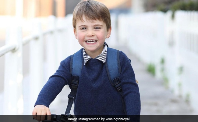 Prince Louis Is All Smiles In His Birthday Portrait