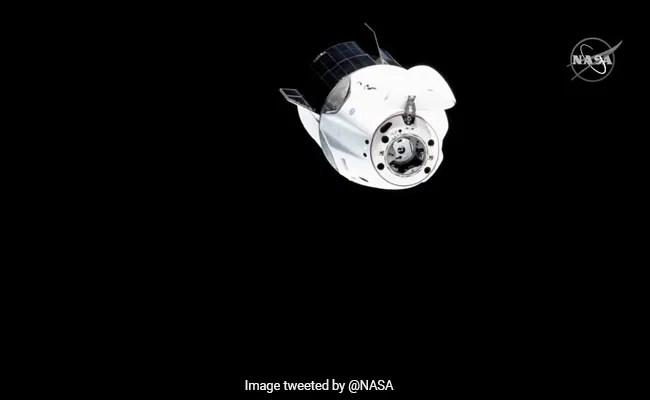 Watch: NASA Spacecraft Prepares To Welcome New Crew