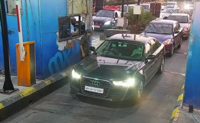 On CCTV, Cop Drives Audi With Murder-Accused In Ambani Bomb Scare Case