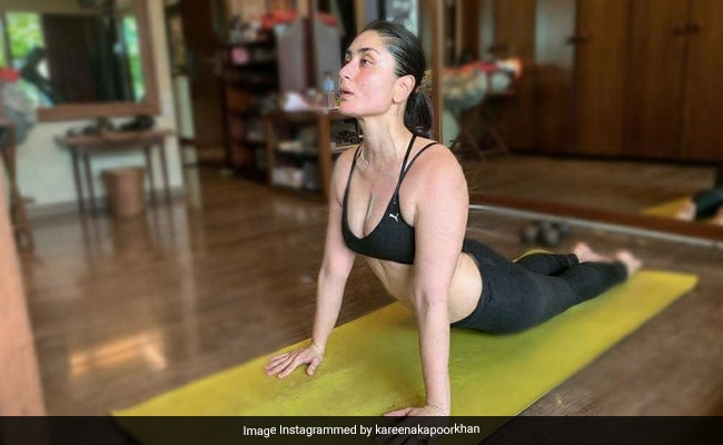 For Kareena Kapoor, 'Lockdown Doesn't Mean Giving Up' On Fitness. See What She Posted
