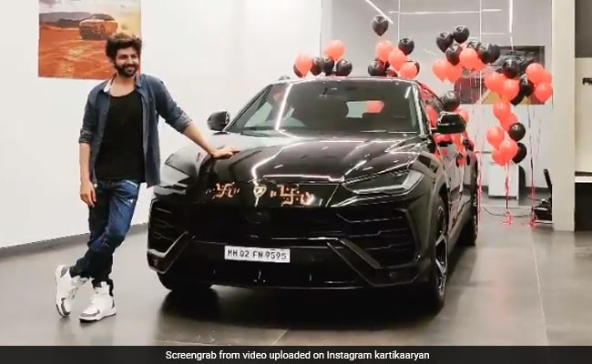 Kartik Aaryan Buys A Lamborghini Urus After Testing COVID-Negative. His ROFL Post