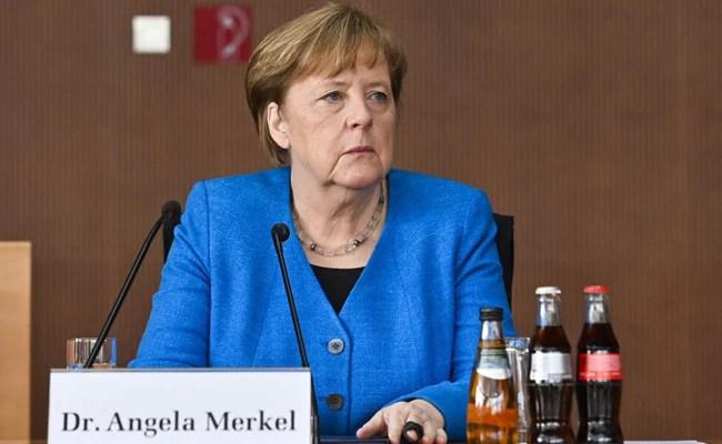 Angela Merkel Demands Faster Climate Action As German Flood Deaths Rise