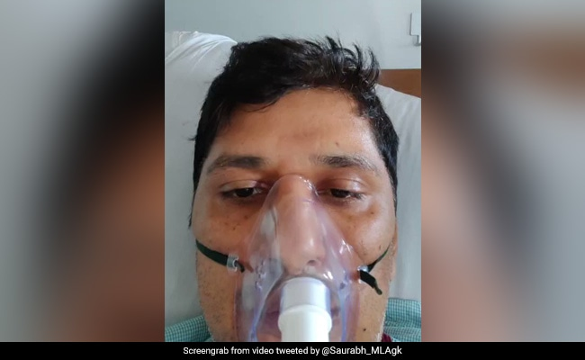 '3 Hours of Oxygen Left': AAP Leader's SOS From Hospital Bed