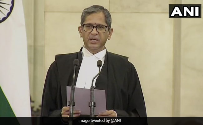 Justice NV Ramana Sworn In As New Chief Justice Of India