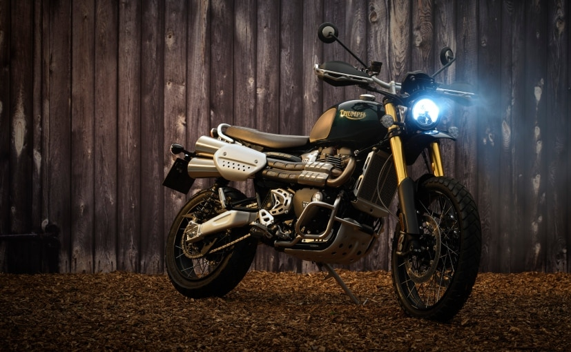 The 2021 Triumph Scrambler 1200 Steve McQueen Edition is priced at Rs. 13.75 lakh (ex-showroom).
