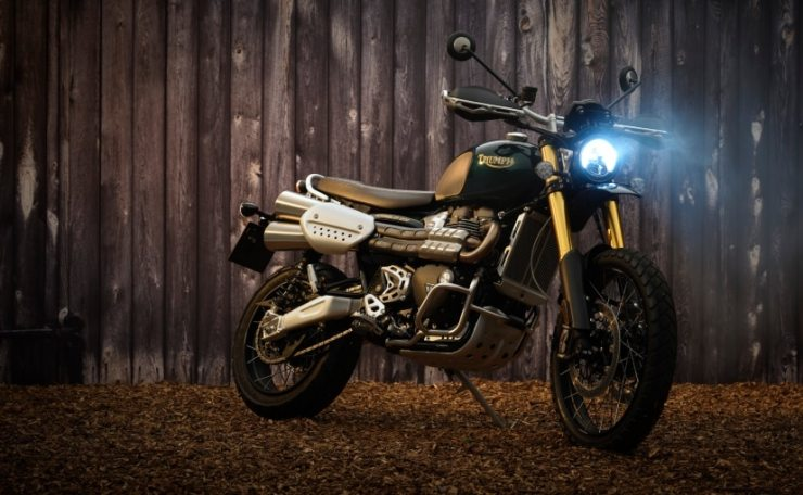 Only 1,000 units of the Triumph Scrambler 1200 Steve McQueen edition will be manufactured