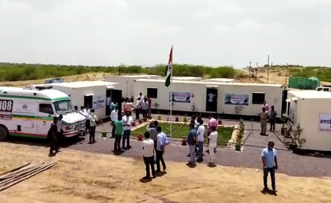 Covid Care Centres Set Up, Almost Overnight, In Rajasthan Desert