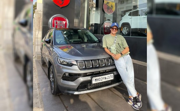 Vijay Varma shared the images of his new Jeep Compass on Instagram