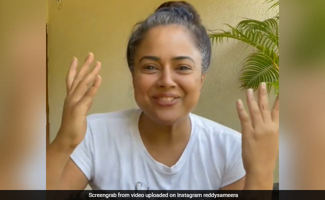 Actor Sameera Reddy Is COVID-Free Now. 'Thankful That Our Family Is Safe,' She Writes