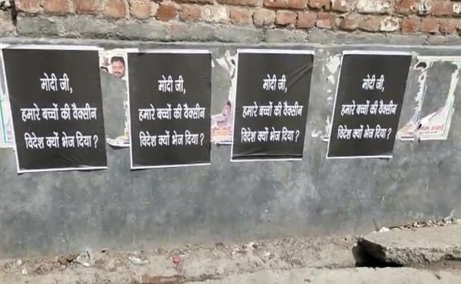 17 Arrested Over Posters Against PM Modi In Delhi: Sources