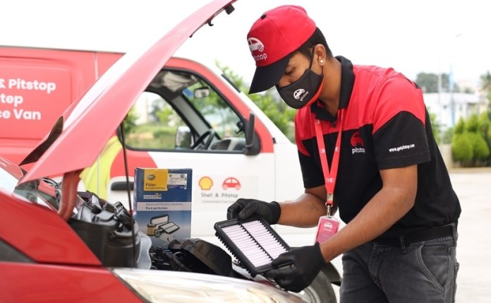 Pitstop says that it is equipped for servicing vehicles which haven't been used in a while