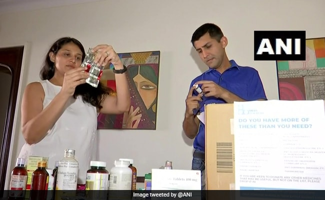 Mumbai Doctor Couple Collects 20 Kg Of Unused Covid Medicines In 10 Days