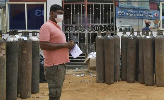 बेंगलुरु के अस्पतालों ने ऑक्सीजन संकट के रूप में मदद के लिए अपील की