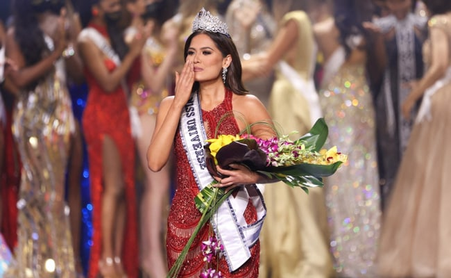Mexico's Andrea Meza Crowned Miss Universe 2021