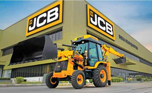 JCB has five manufacturing facilities in India, at Ballabhgarh, Jaipur and Pune