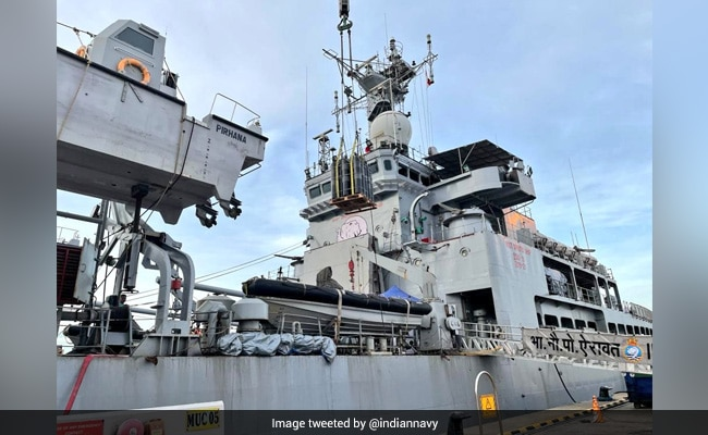 Navy Intensifies Samudra Setu Op, 9 Warships Bringing Oxygen From Abroad