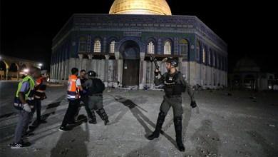 Scores Injured As Israeli Police, Palestinians Clash At Jerusalem's Al-Aqsa