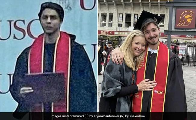 Are Aryan Khan And Lisa Kudrow's Son F.R.I.E.N.D.S? See Viral Graduation Day Pics