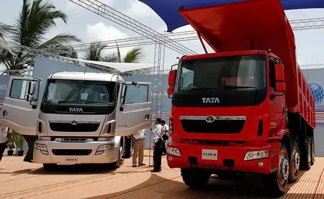 Tata Motors Falls After Reporting Surprise Loss In March Quarter