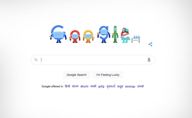 Google Advises To 'Get Vaccinated' Against Covid With Its New Doodle