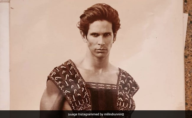 Milind Soman In Spandex Shorts Puts All Other Throwbacks To Shame