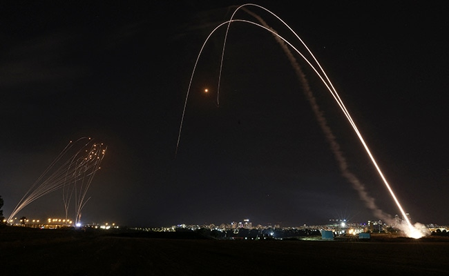 Over 1,000 Rockets Fired From Gaza Towards Israel Since Monday: Army