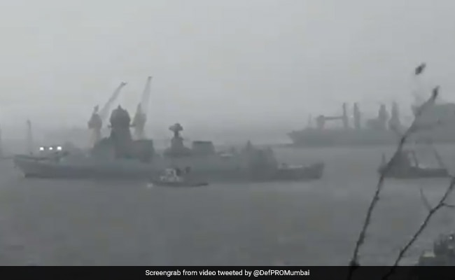 Cyclone Tauktae: 146 Onboard Barge Adrift Off Mumbai Rescued In 'Challenging Conditions'