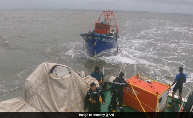 Huge Rescue Ops After Cyclone Tauktae Sinks Barge, Leaves Oil Rig Adrift