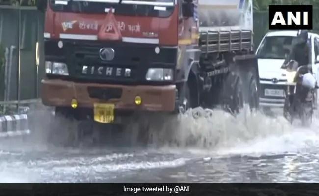दिल्ली जलभराव, एनसीआर के लिए बारिश का पूर्वानुमान और आप सभी को जानना आवश्यक है