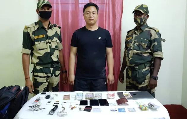 'संशयास्पद क्रियाकलापांवरून' भारत-बांगलादेश सीमेवर चिनी माणूस पकडला