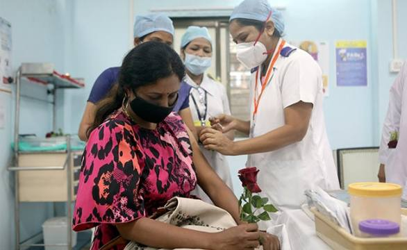 India's Gender Inequity In Vaccinations Narrows