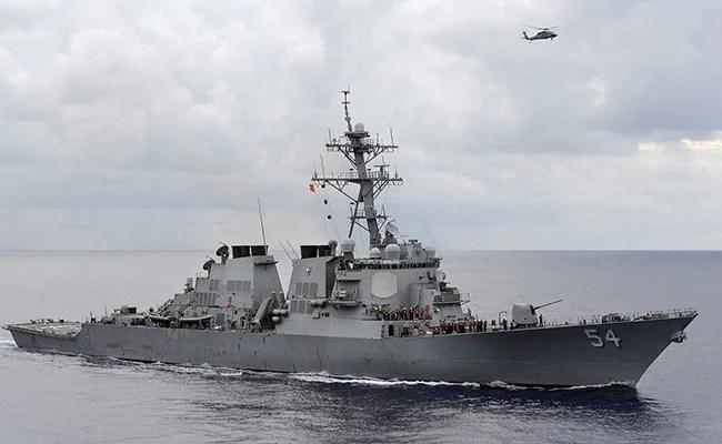 US Warship Transits Sensitive Taiwan Strait A Week After Chinese Air Incursion