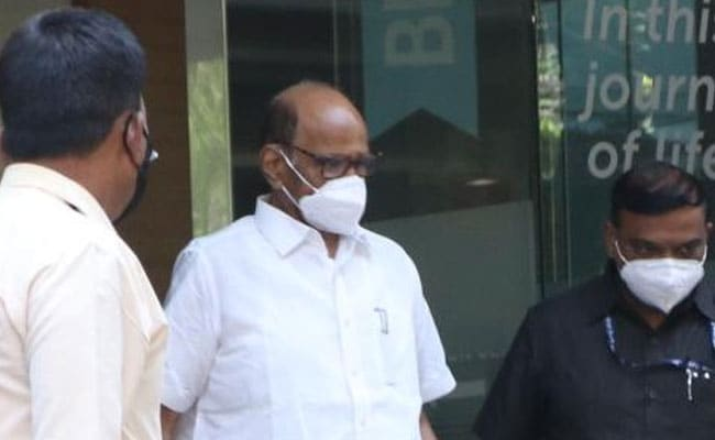 Sena-NCP-Congress Government In Maharashtra Will Complete Term: Sharad Pawar