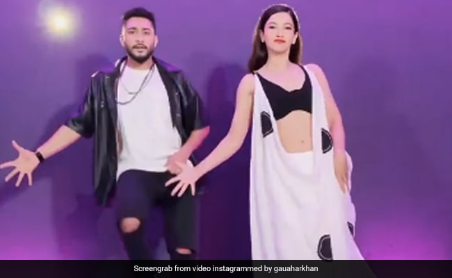 Gauahar Khan ने बादशाह के गाने 'पानी पानी' पर किया डांस, खूब वायरल हो रहा Video