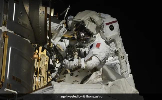 US, French Astronauts Make International Space Station Spacewalk -India News Cart